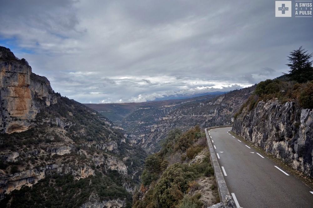 Gorges de la Nesque near Mont Ventoux