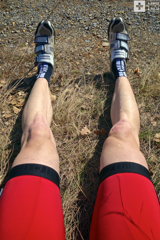 Fashion police warning: MTB shoes and white legs shall not be tolerated on my 5 day ultralight bike touring adventure in France