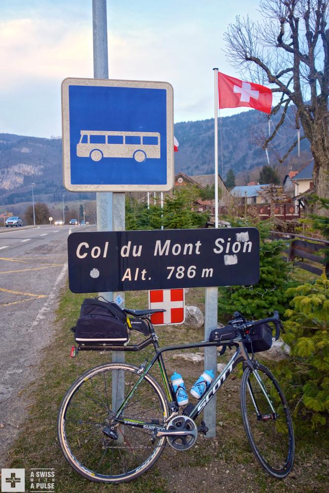 Last col before finishing my ultralight bike touring adventure in Geneva