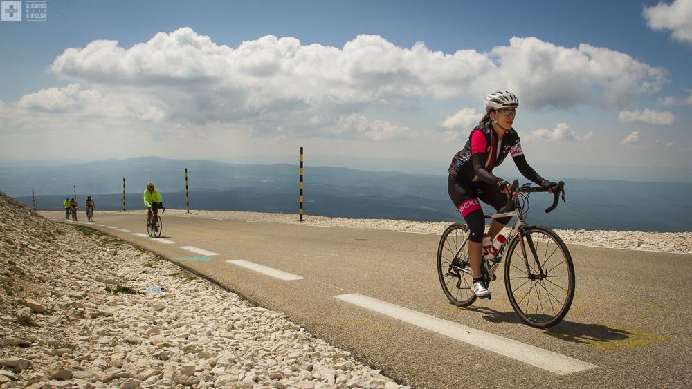 Climbing Mont Ventoux from Chalet Reynard