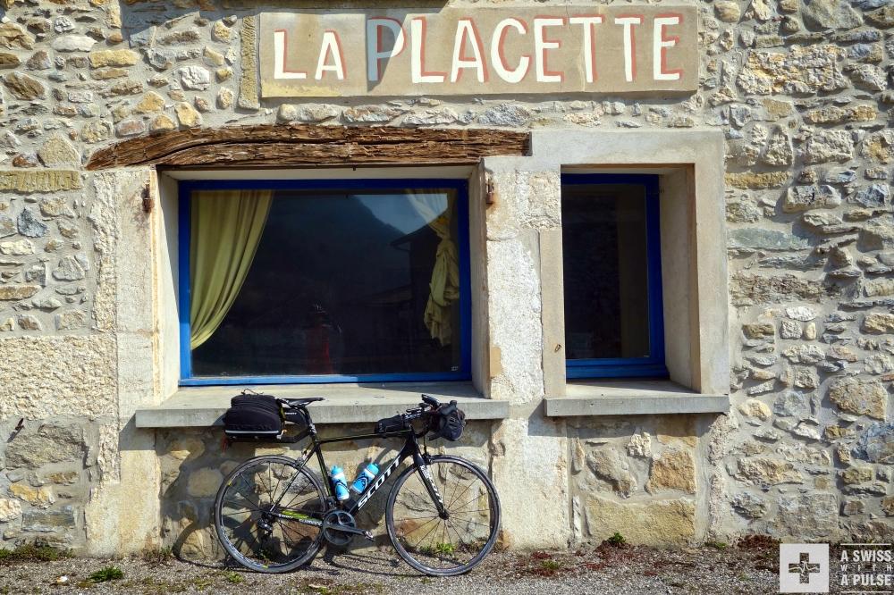 Col de la Placette in the Chartreuse regional park