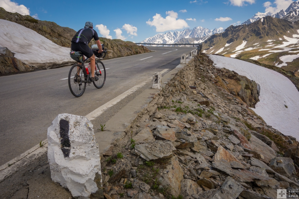 Cycling in the Alps: Tour du Mont Blanc in ultralight touring mode
