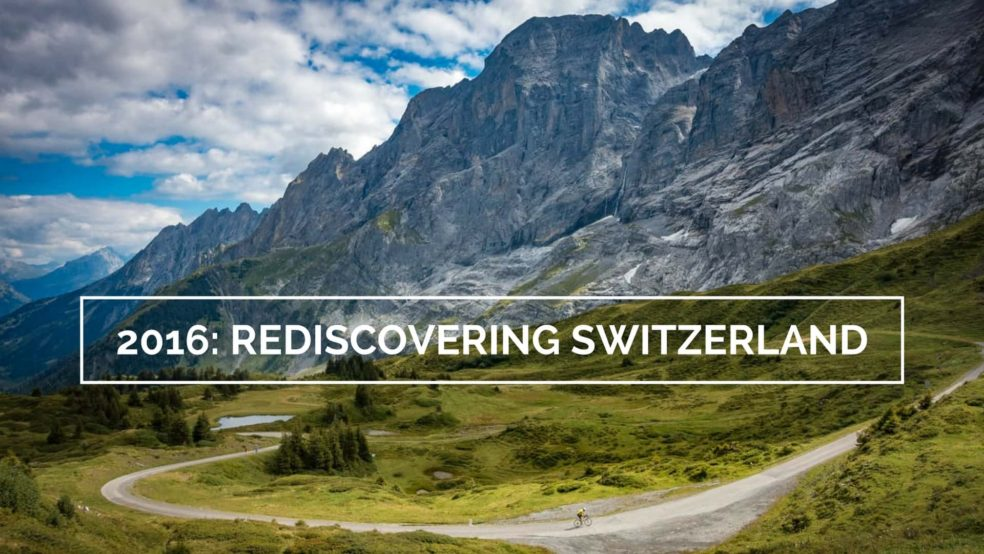2016 yearly review: rediscovering Switzerland (Grosse Scheidegg)