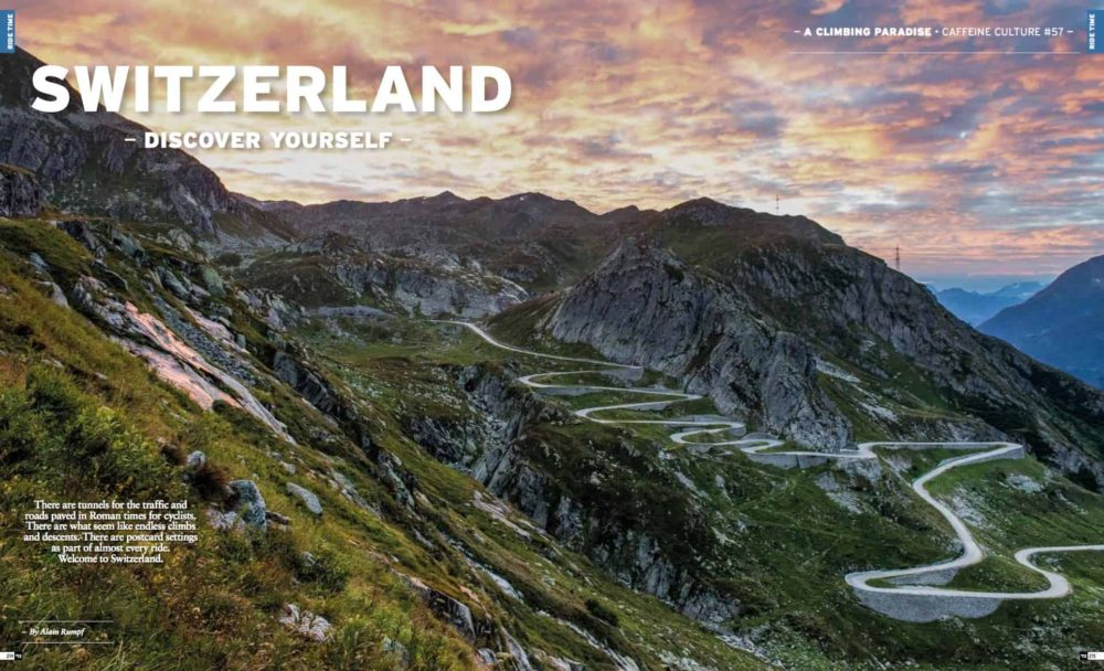 Switzerland: Discover Yourself by Alain Rumpf in RIDE cycling Review