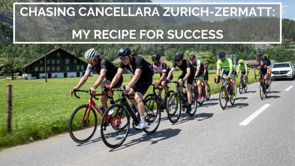 Chasing Cancellara Zurich Zermatt